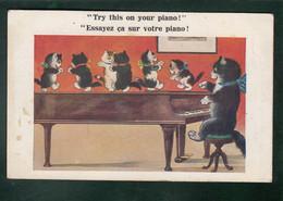 CP - Fant. - Chat Jouant Du Piano - Chatons Dansent Sur La Piano - Contemporánea (desde 1950)