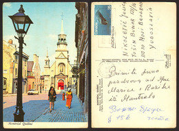Canada Montreal Church Car Citroen DS Nice Stamp #19334 - Montreal