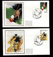 FDC Zijde : Nr 2039/42:  Stempel: 6240 Farciennes - 1981-90