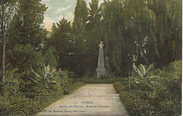 54 - Nancy -Jardin Des Plantes - Buste De Crevaux ** CPA  En Très Bon état ** - Nancy
