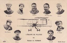 L'équipe Des Pilotes Du Biplan H Farman  (pk82547) - ....-1914: Precursori