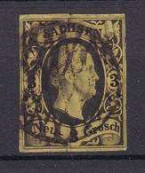 Sachsen - 1851/55 - Michel Nr. 6 - Gestempelt - 45 Euro - Saxony