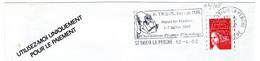 Flamme Temporaire SECAP Hte Vienne St Yrieix La Perche Pays De L'or Depuis Les Gaulois Championnat D'Europe D'orpaillage - Mechanical Postmarks (Advertisement)