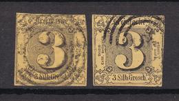 Thurn Und Taxis - 1852/58 - Michel Nr. 6 A/b - Gestempelt - 70 Euro - Thurn And Taxis