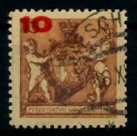 LIECHTENSTEIN 1924 Nr 62B Gestempelt X6ACA5E - Used Stamps