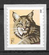 USA 2015 MiNr. 4853 II  Mammals Bobcat  1v  MNH** 0,30 € - Felini