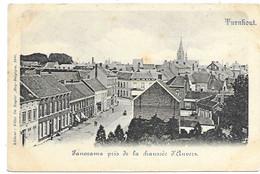 Turnhout - Panorama Pris De La Chaussée D'Anvers. - Turnhout
