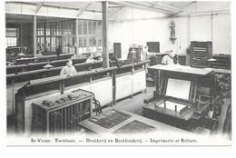 Turnhout - St-Victor Drukkerij En Boekbinderij. - Turnhout