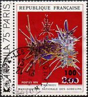 Réunion Obl. N° 427 - Arphila 75 - Oeuvre De Mathieu - Used Stamps