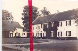 Foto Persfoto - Grimbergen Lint - St Niklaashoeve Met Koetsmuseum - 3 Sept 1981 - Fotograaf Blijaert - Non Classés