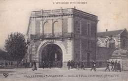 Clermont Ferrand Sortie De L'usine Conchon Quinette - Clermont Ferrand