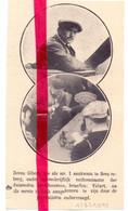 Orig. Knipsel Coupure Tijdschrift Magazine - Luchtvaart, Piloot Gibert Na Vlucht Parijs Soesterberg - 1911 - Ohne Zuordnung