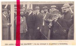 Orig. Knipsel Coupure Tijdschrift Magazine - Luchtvaart, Piloot Beaumont Te Soesterberg - 1911 - Ohne Zuordnung