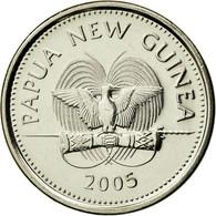 Monnaie, Papua New Guinea, 5 Toea, 2005, SPL, Nickel Plated Steel, KM:3a - Papua New Guinea