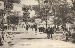 CPA Le Vésinet Yvelines, Arc De Triomphe, Marche De L'Armee 1904 - Andere Gemeenten