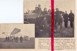 Orig. Knipsel Coupure Tijdschrift Magazine - Soesterberg - Vliegtuig Piloot Wijnmalen  - 1911 - Ohne Zuordnung