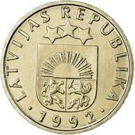 Monnaie, Latvia, 50 Santimu, 1992, SPL, Copper-nickel, KM:13 - Latvia