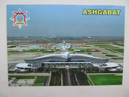 Turkmenistan Ashgabat International Airport Aerial View - Aerodromes