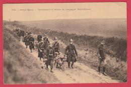 Armée Belge - Mitrailleuse Tirée Par Des Chiens -Caraniers En Service ...série De 6 Cartes Ds Mes Ventes (voir Verso ) - Regiments