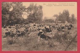 Armée Belge - Mitrailleuse Tirée Par Des Chiens -Position D'attente ...série De 6 Cartes Ds Mes Ventes (voir Verso ) - Regiments