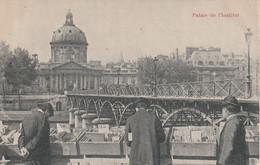 CPA. PARIS PALAIS DE L'INSTITUT.AVEC PUB ROYAL  MOKA. - Publicidad