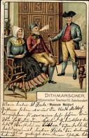 Artiste CPA Meldorf In Holstein, Dithmarscher Trachten 15. Jahrhundert - Other
