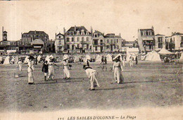 Dept 85,Vendée,Cpa Les Sables D'Olonne,La Plage - Sables D'Olonne