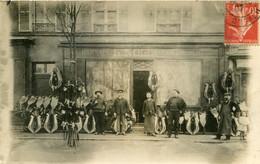 Paris Nolin Harnais Courroies  23 Bis Avenue D'Italie (carte Photo Du Magasin) 1907 - Arrondissement: 13