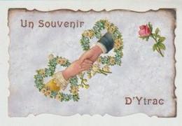 Cantal Souvenir D'YTRAC Carte Avec Découpis - Andere Gemeenten