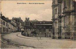 CPA GISORS Rue De Saint-Gervais (1149245) - Gisors