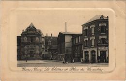 CPA GISORS Le Theatre Et Place Des Carmelites (1149857) - Gisors