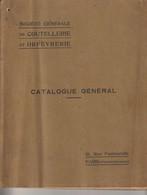 Sté Gale De Coutellerie Et Orfèvrerie Catalogue 1911 (couteaux, Tire-bouchons, Greffoirs, Rasoirs, Ciseaux...) 152 Pages - Reclame