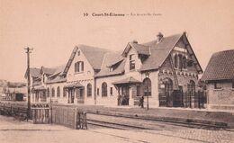 Court-St-Etienne - La Nouvelle Gare - Edit. Jamar/Desaix 10 - Stazioni Senza Treni