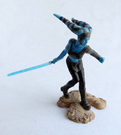 FIGURINE STAR WARS UNLEASHED JEDI AAYLA SECURA 2005 - Power Of The Force