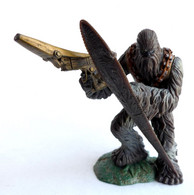 FIGURINE STAR WARS UNLEASHED WOOKIE WARRIOR 2005 (mod C) (1) - Power Of The Force