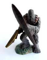 FIGURINE STAR WARS UNLEASHED WOOKIE WARRIOR 2005 (mod C) (2) - Power Of The Force