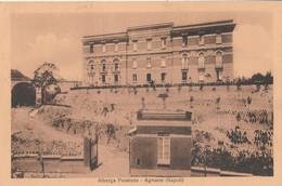 Cartolina - Postcard /  Viaggiata - Sent /  Napoli - Agnano, Albergo Pensione. - Napoli (Naples)