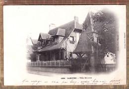 X14029 ⭐ CABOURG 14-Calvados Villa MAURICE  Postée Le 31.08.1903 Editions ERDNA 1839 - Cabourg