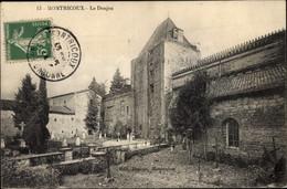 CPA Montricoux Haute De Garonne, Le Donjon - Autres Communes