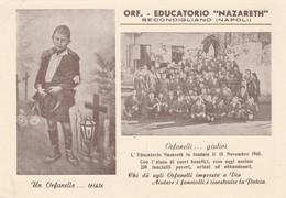 """Cartolina - Postcard / Non Viaggiata - Unsent /  Napoli - Orfanotrofio """" Nazareth """" ( Gran Formato ) - Napoli (Naples)"""