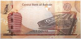 Bahreïn - 0,5 Dinar - 2016 - PICK 30a - NEUF - Bahrain