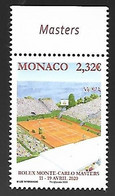Monaco 2020 - Yv N° 3231 ** - Rolex Monte-Carlo Master - Ongebruikt