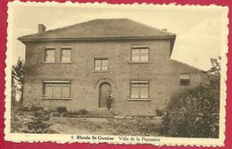 C.P.  Rhode-Saint-Genèse  =  Villa De La Pépinière - Rhode-St-Genèse - St-Genesius-Rode
