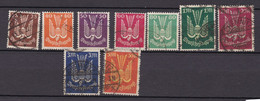 Germany - Reich - 1922 Year _ Michel 210/218 - Used - Officials