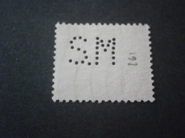 FRANCE SEMEUSE 130 SM161 PERFORE PERFORES PERFIN PERFINS PERFORATION PERFORIERT LOCHUNG PERFORATI PERCE PERFO PERF - Perforadas