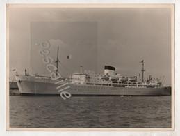 PHOTOGRAPHIE 18 X 24 CM DU PAQUEBOT JEAN MERMOZ - Barche