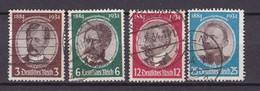 Germany - Reich - 1935 Year _ Michel 540/543 - Used - Used Stamps