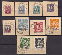 Germany - Reich - 1920 Year _ Michel 129/138 - Used - Used Stamps