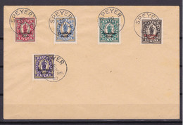 Germany - Reich - 1920 Year _ Michel 129/133 - Used - Used Stamps