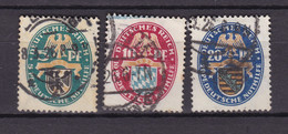 Germany - Reich - 1925 Year _ Michel 375/377 - Used - Used Stamps